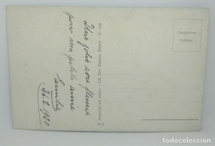 Año 1920 Postal Nº4150 Niño mariposa. Mujer flor 26/02/1920 - 175962664