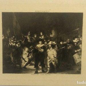 Rembrandt. Garde de Nuit