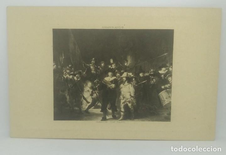 Postales: Rembrandt. Garde de Nuit - Foto 2 - 175972125