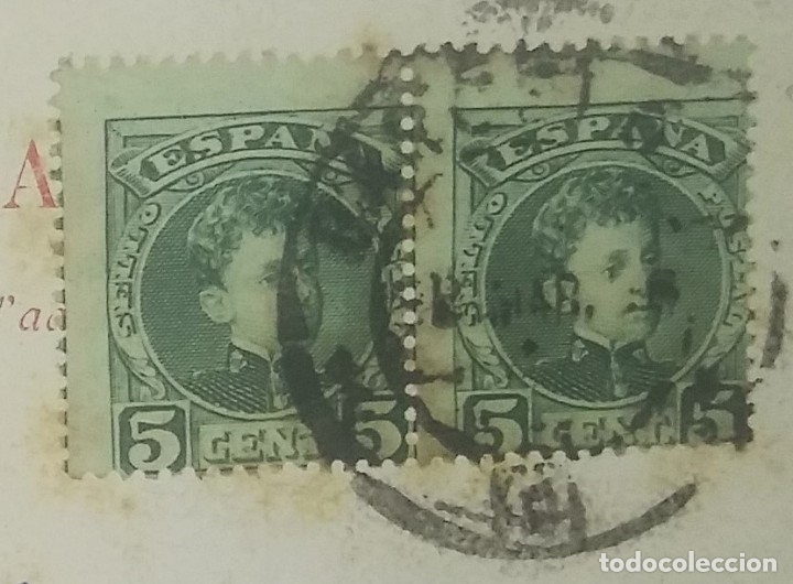 Postales: 1908 J.I. Redmond (ver sello) - Foto 4 - 175975914