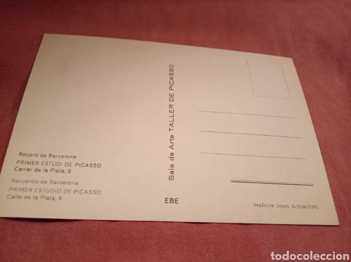 Postales: Primer estudio de Picasso - Foto 2 - 176700444