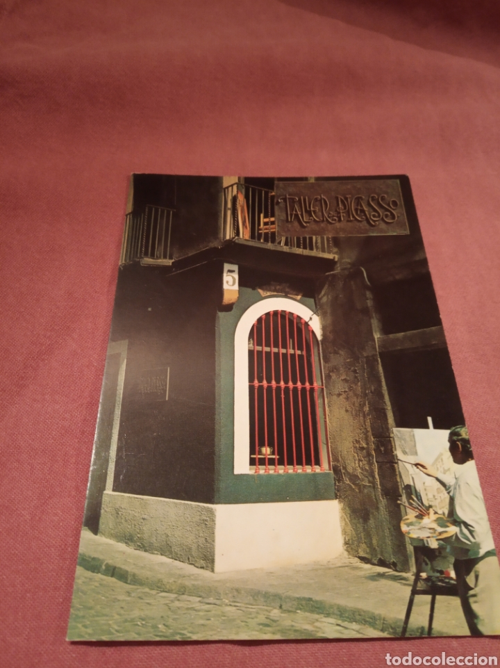 PRIMER ESTUDIO DE PICASSO (Postales - Postales Temáticas - Arte)