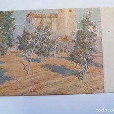 Postales: TARJETA POSTAL - JOAQUIN MIR EL HUERTO DEL RECTOR NUM. 347 - MUSEO ARTISTICOS BARCELONA. Lote 176736768