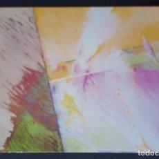 Postales: CTC - FRANCISCO MOLINERO AYALA - ABSTRACCION - SIN CIRCULAR. Lote 177002100