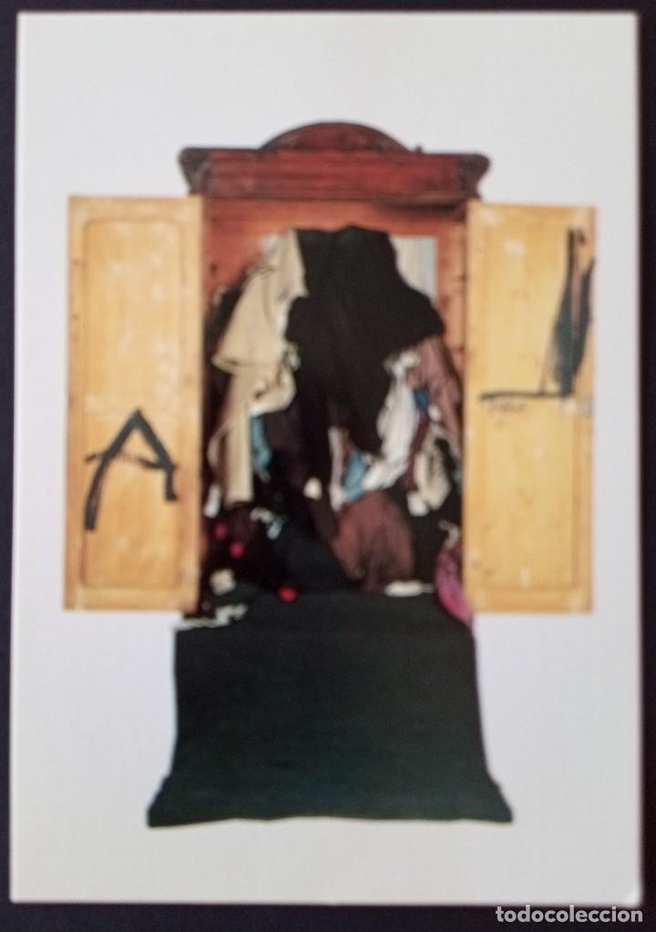 CTC - ANTONI TAPIES ARMARI 1973 - FUNDACION ANTONI TAPIES BARCELONA - SIN CIRCULAR (Postales - Postales Temáticas - Arte)