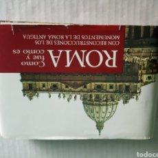 Postales: ROMA COMO FUE Y COMO ES. Lote 177022449