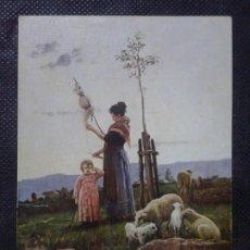 Postales: POSTAL ESAPAÑA. Nº 5 MUSEO DEL ARTE MODERNO (BARCELONA), JOAQUIN VAYREDA 1843-1894, CONTRA LUZ.. Lote 177031119