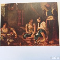 Postales: ANTIGUA TARJETA POSTAL ARTE - CUADRO DELACROIX - MUSEO DE LOUVRE № 5249. Lote 177181553