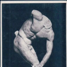 Postales: POSTAL ESCULTURA ROMA - MESEO NAZ - DISCOBOLO - D. ANDERSON. Lote 177654403