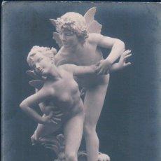 Postales: POSTAL ESCULTURA - SALON 1913 - LEOPOLD MORICE - BUTTERFLYS - H D PHOT 6940. Lote 177655303