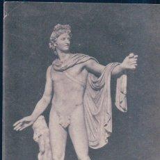 Postales: POSTAL ESCULTURA DE APOLLO DI BELVEDERE - MUSEO VATICANO - 107 ERN RICHTER. Lote 177667430