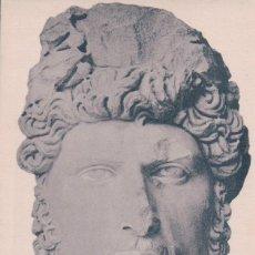 Postales: POSTAL ESCULTURA . MUSEO BARDO - DOUGGA - LUCIUS VERUS - 1045. Lote 177695865