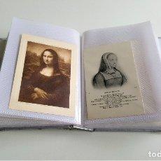 Postales: BONITO ALBUM POSTAL HISTORIA SOCIAL Y ARTE (VER IMAGENES). Lote 177750715