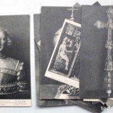 Postales: COLECCIÓN DE 15 POSTALES DE LA EXPOSICIÓN HISPANO-FRANCESA DE ZARAGOZA 1908. HAUSER Y MENET . Lote 177825877
