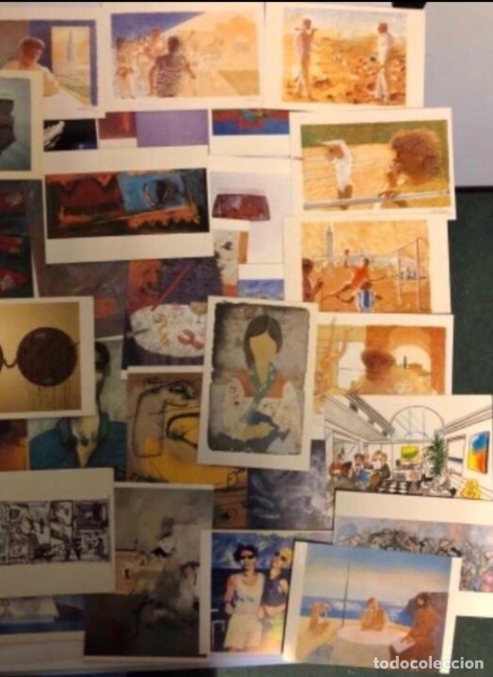 Postales: LOTE DE 61 POSTALES SIN CIRCULAR DE ARTE PARA LA COLECCIÓN NH HOTELES. AÑOS 80. NO REPETIDAS. - Foto 5 - 177848083