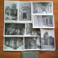 Postales: JOIAS DE CATALUNYA - SANT PAU DEL CAMP- BARCELONA / 14 POSTALES ANTIGUAS. Lote 177942260