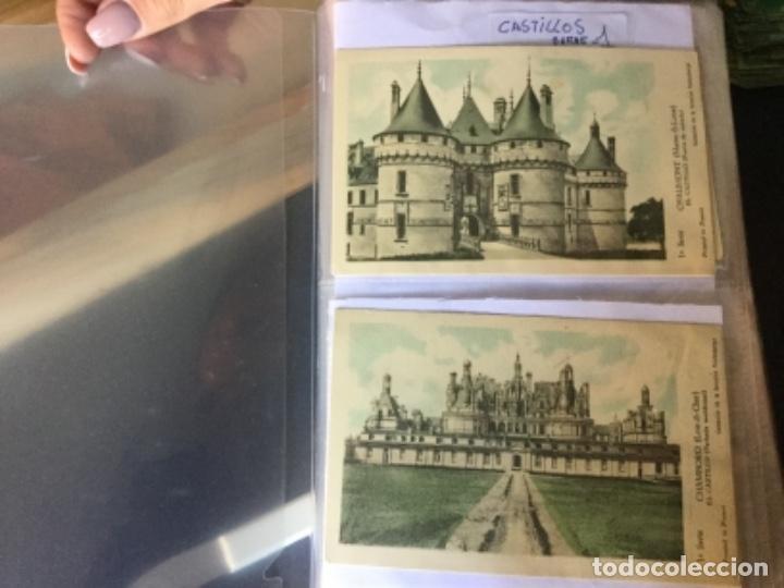 10 SERIES CASTILLOS DE FRANCIA - COLECCION DE LA SOLUCIÓN PAUTAUBERGE 122 POSTALES EN TOTAL (Postales - Postales Temáticas - Arte)