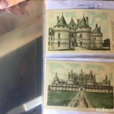 Postales: 10 SERIES CASTILLOS DE FRANCIA - COLECCION DE LA SOLUCIÓN PAUTAUBERGE 122 POSTALES EN TOTAL . Lote 178105949