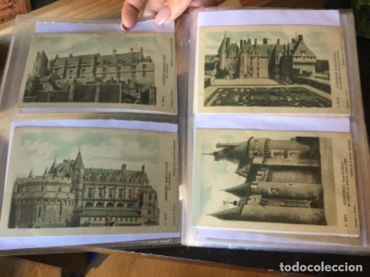 Postales: 10 series CASTILLOS DE FRANCIA - Coleccion de la Solución Pautauberge 122 postales en total - Foto 2 - 178105949