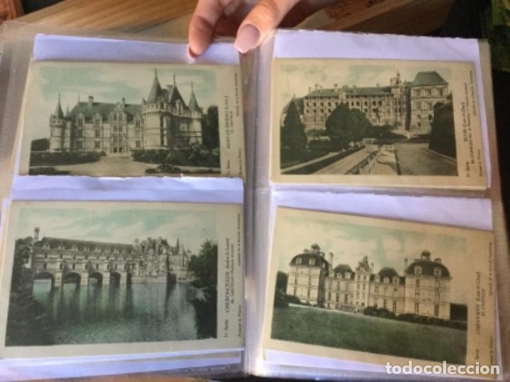 Postales: 10 series CASTILLOS DE FRANCIA - Coleccion de la Solución Pautauberge 122 postales en total - Foto 3 - 178105949