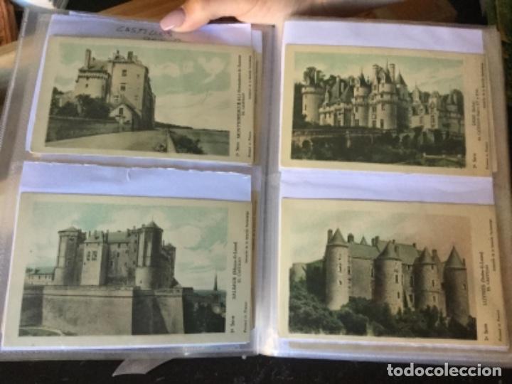 Postales: 10 series CASTILLOS DE FRANCIA - Coleccion de la Solución Pautauberge 122 postales en total - Foto 4 - 178105949