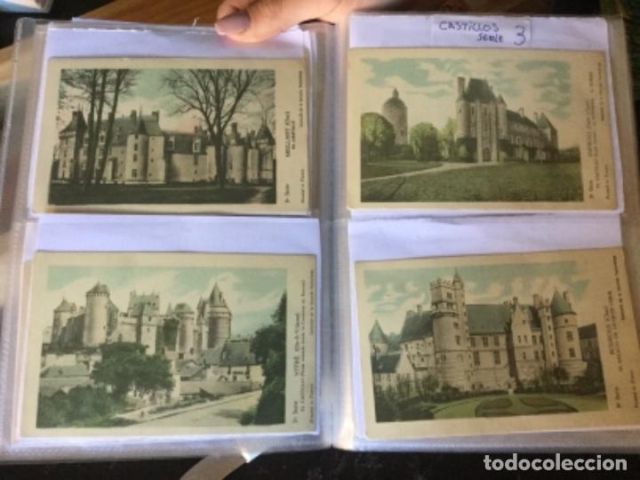 Postales: 10 series CASTILLOS DE FRANCIA - Coleccion de la Solución Pautauberge 122 postales en total - Foto 5 - 178105949