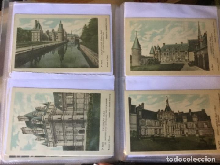 Postales: 10 series CASTILLOS DE FRANCIA - Coleccion de la Solución Pautauberge 122 postales en total - Foto 6 - 178105949