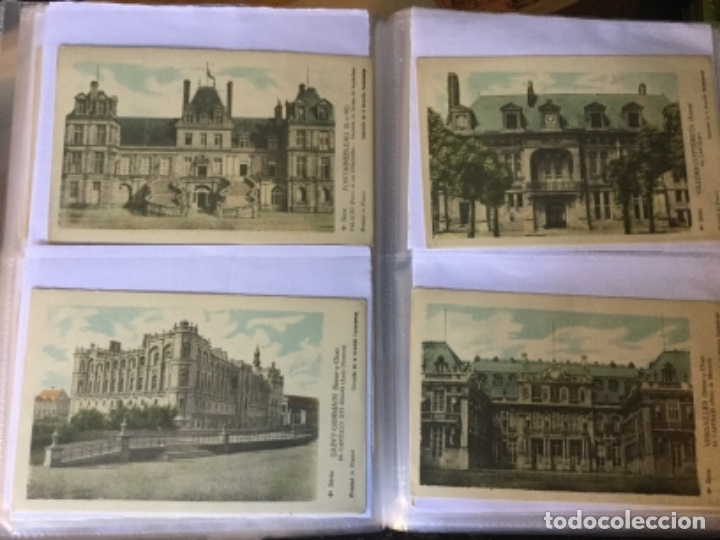 Postales: 10 series CASTILLOS DE FRANCIA - Coleccion de la Solución Pautauberge 122 postales en total - Foto 7 - 178105949