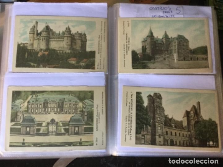 Postales: 10 series CASTILLOS DE FRANCIA - Coleccion de la Solución Pautauberge 122 postales en total - Foto 8 - 178105949