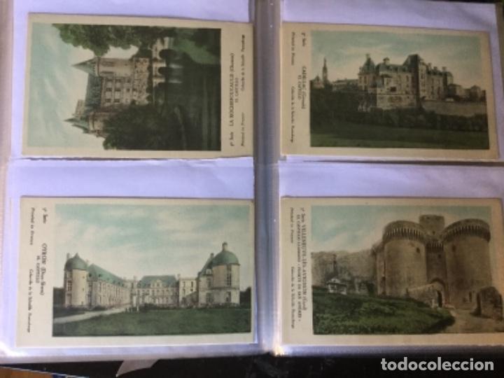 Postales: 10 series CASTILLOS DE FRANCIA - Coleccion de la Solución Pautauberge 122 postales en total - Foto 9 - 178105949