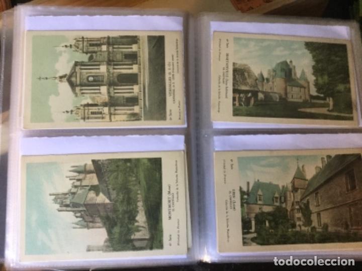 Postales: 10 series CASTILLOS DE FRANCIA - Coleccion de la Solución Pautauberge 122 postales en total - Foto 14 - 178105949