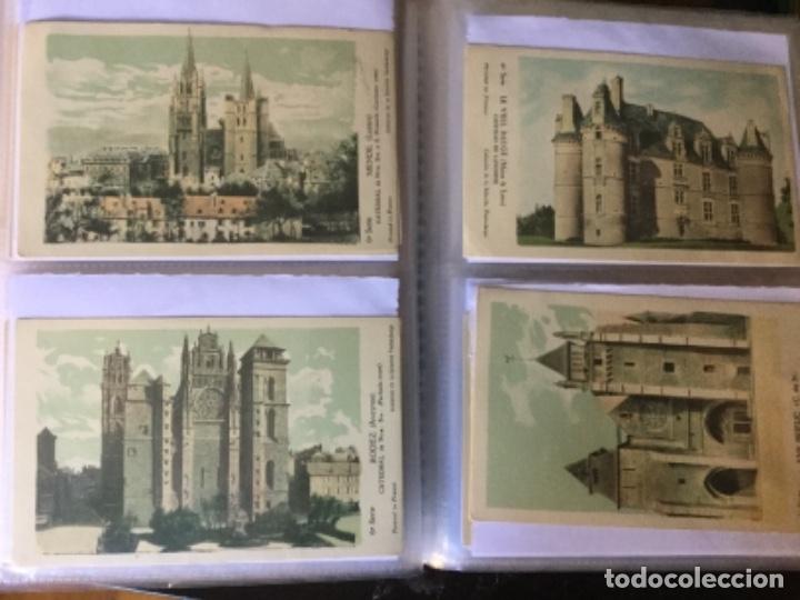 Postales: 10 series CASTILLOS DE FRANCIA - Coleccion de la Solución Pautauberge 122 postales en total - Foto 15 - 178105949