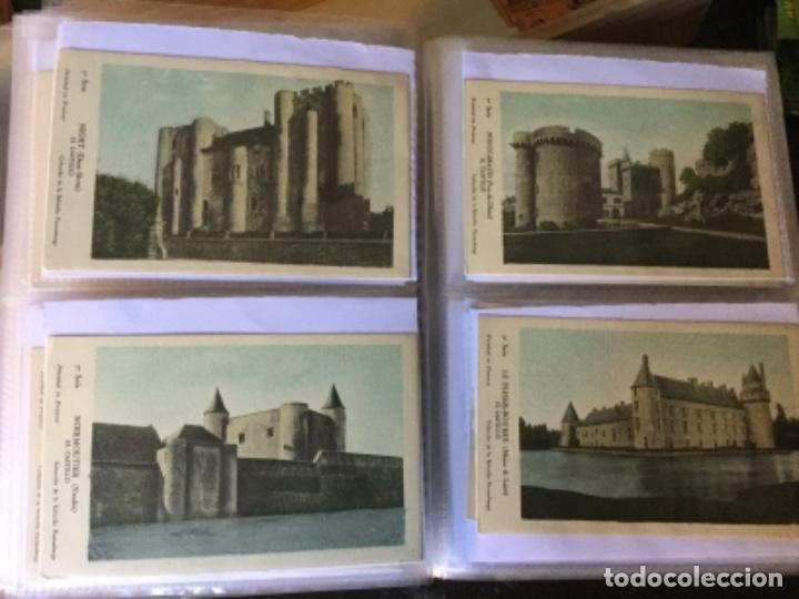 Postales: 10 series CASTILLOS DE FRANCIA - Coleccion de la Solución Pautauberge 122 postales en total - Foto 17 - 178105949