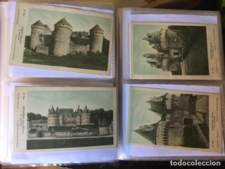 Postales: 10 series CASTILLOS DE FRANCIA - Coleccion de la Solución Pautauberge 122 postales en total - Foto 19 - 178105949