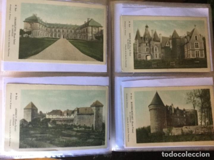 Postales: 10 series CASTILLOS DE FRANCIA - Coleccion de la Solución Pautauberge 122 postales en total - Foto 20 - 178105949