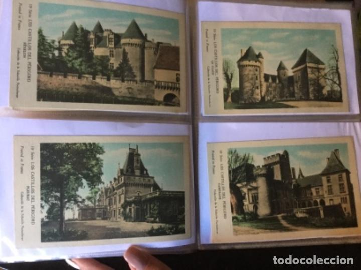 Postales: 10 series CASTILLOS DE FRANCIA - Coleccion de la Solución Pautauberge 122 postales en total - Foto 24 - 178105949