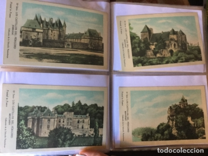 Postales: 10 series CASTILLOS DE FRANCIA - Coleccion de la Solución Pautauberge 122 postales en total - Foto 25 - 178105949
