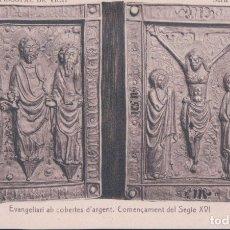 Postales: POSTAL VIC - MUSEU EPISCOPAL DE VICH - SERIE B Nº 12 EVANGELIARI AB COBERTES - THOMAS. Lote 178270535