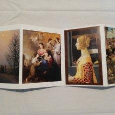 Postales: 9 POSTALES MUSEO THYSSEN. Lote 178300285