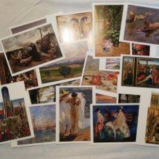 Postales: LOTE DE 20 POSTALES DEL MUSEO DEL PRADO. Lote 178301763