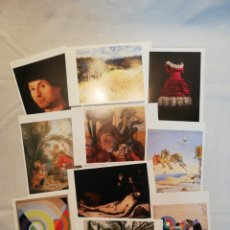 Postales: LOTE DE 50 POSTALES DEL MUSEO THYSSEN. Lote 178302563