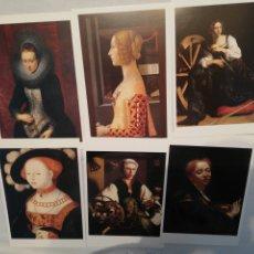 Postales: LOTE DE 30 POSTALES MUSEO THYSSEN. Lote 178303213