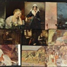 Postales: COLECCIÓN 11 ANTIGUAS POSTALES DE ARTE. Lote 178327477
