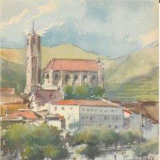 Postales: COLECCIÓN COMPLETA 38 POSTALES - ARTES GRÁFICAS TRAYTER (FIGUERES) - ACUARELAS COSTA BRAVA - 1950. Lote 178619467