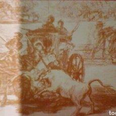 Postales: POSTAL LA TEUROMAQUIA. GOYA - MUSEO DEL PRADO - POSTAL AÑOS 20.. Lote 178718332