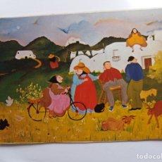 Postales: ANTIGUA TARJETA POSTAL - IBIZA BALEARES - JUSSARA PINTURA AL OLEO № 145. Lote 178867995