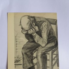 Postales: TARJETA POSTAL - PINTURA - VINCENT VAN GOGH - A MAN MOURNING. Lote 178873672