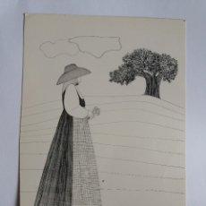 Postales: TARJETA POSTAL - PINTURA - IBIZA -DIBUJO DE LUIS AMOR. Lote 178873806