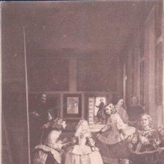 Postales: POSTAL MADRID - MUSEO DEL PRADO - VELAZQUEZ - LAS MENINAS - 1062 - LAURENT. Lote 179066828