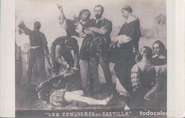 POSTAL LOS COMUNEROS DE CASTILLA (Postales - Postales Temáticas - Arte)